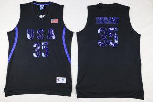 2016 NBA 35 Durant Dream Team USA Black Jersey
