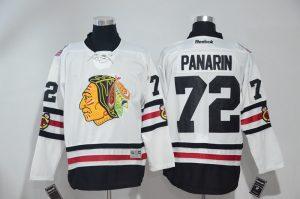 2016 NHL Chicago Blackhawks 72 Panarin White Jerseys