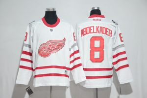 2016 NHL Detroit Red Wings 8 Abdelkader White Jerseys