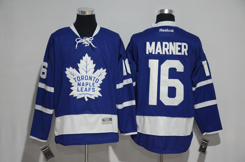 2016 NHL Toronto Maple Leafs 16 Marner Blue1 Jerseys
