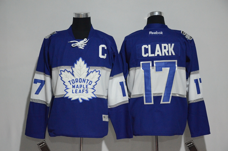 2016 NHL Toronto Maple Leafs 17 Clark Blue Jerseys