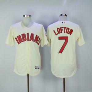 2017 MLB Cleveland Indians 7 Lofton Gream Elite Jerseys