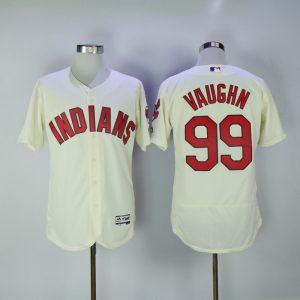 2017 MLB Cleveland Indians 99 Vaughn Gream Elite Jerseys