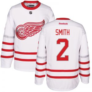 2017 NHL Detroit Red Wings 2 Smith White Jerseys
