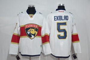 2017 NHL Florida Panthers 5 Ekblad white Jerseys