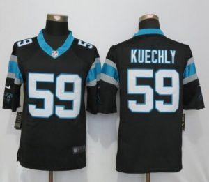 Carolina Panthers 59 Kuechly Black Nike Limited Jerseys