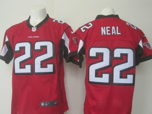 Men Atlanta Falcons 22 Neal Nike red 2016 Draft Pick Elite Jersey