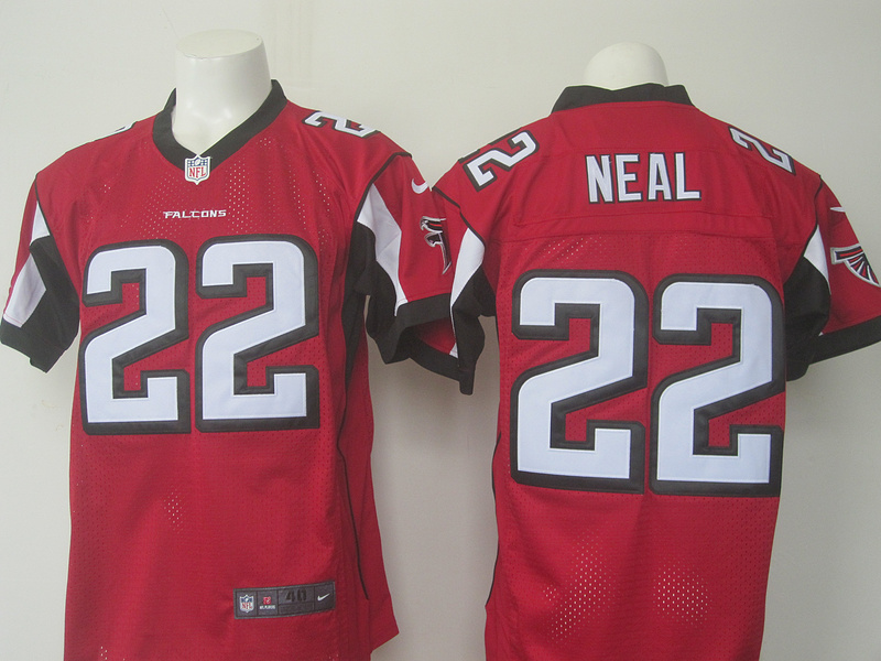 Men Atlanta Falcons 22 Neal Nike red 2016 Draft Pick Elite Jersey