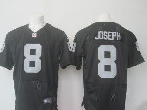 Men Oakland Raiders 8 Joseph Nike black 2016 Draft Pick Elite Jersey