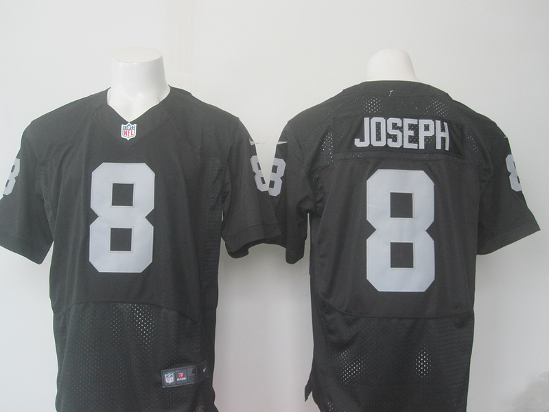 Men Oakland Raiders 8 Joseph Nike black 2016 Draft Pick Elite Jersey