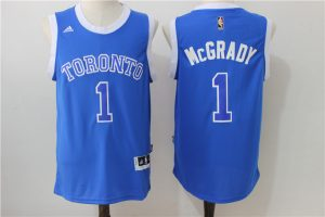 NBA Toronto Raptors 1 Mcgrady Blue 2016 Jerseys