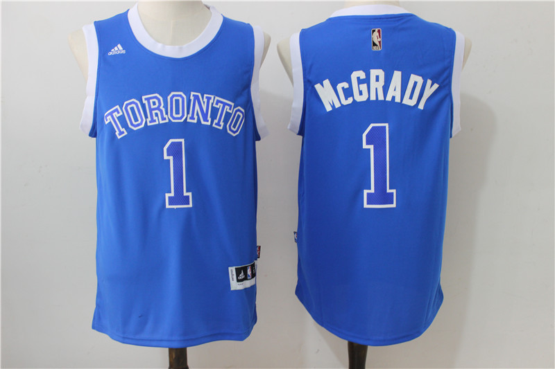 NBA Toronto Raptors 1 Mcgrady Blue 2016 Jerseys