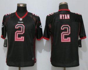Women New Nike Atlanta Falcons 2 Ryan Drift Fashion Black Elite Jerseys