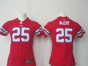 2016 Nike NFL Buffalo Bills 25 McCoy red women jerseys