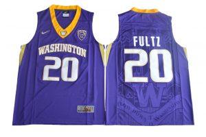 2017 Washington Huskies Markelle Fultz 20 College Basketball Jersey - Purple
