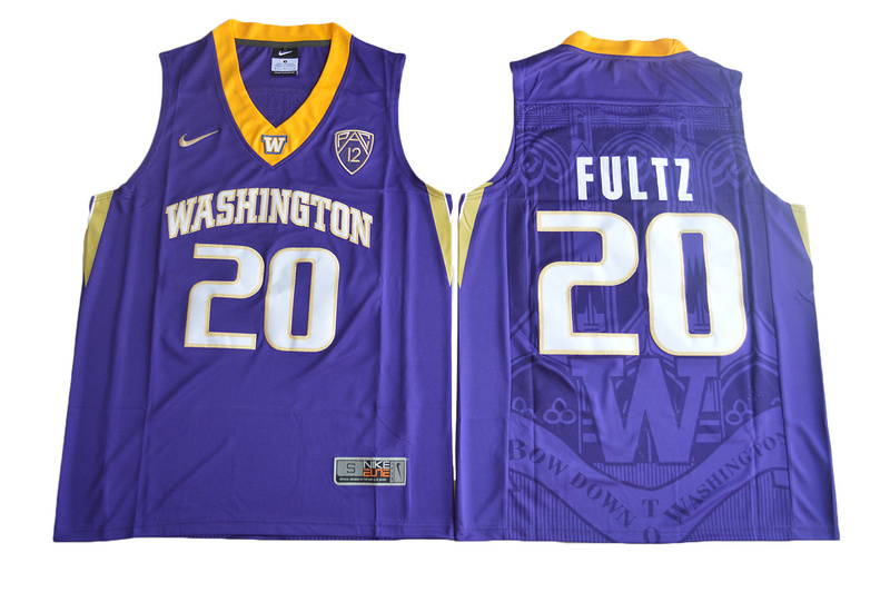 2017 Washington Huskies Markelle Fultz 20 College Basketball Jersey - Purple