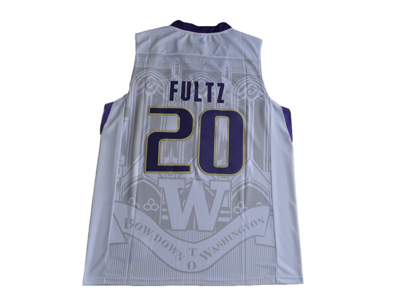 2017 Washington Huskies Markelle Fultz 20 College Basketball Jersey - White
