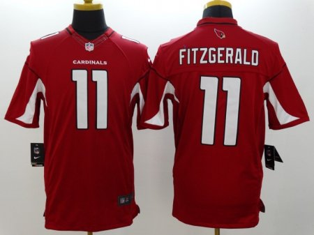 Arizona Cardinals 11 Fitzgerald Red Nike Limited Jerseys