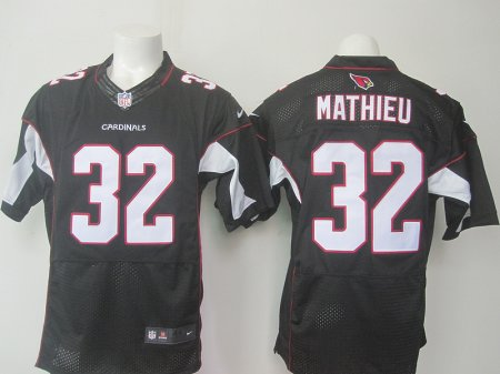 Arizona Cardinals 32 Tyrann Mathieu Black 2015 Nike Elite Jerseys
