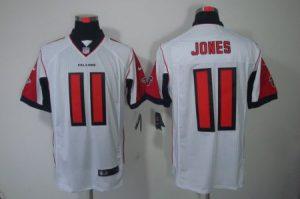 Atlanta Falcons 11 Jones White Nike Elite Jerseys