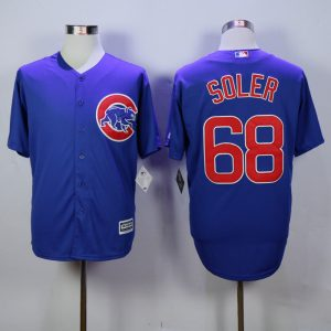 MLB Chicago Cubs 68 Soler Blue 2015 jerseys