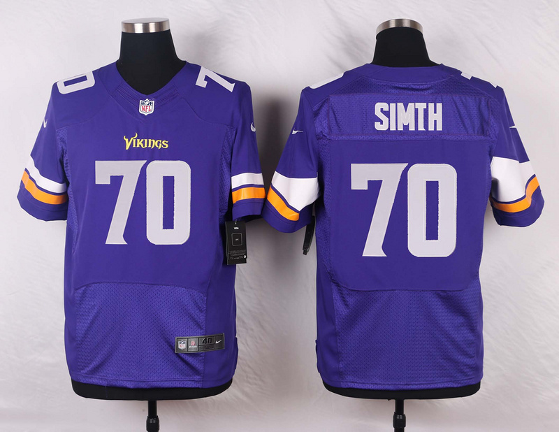 Minnesota Vikings 70 Simth Pueple 2016 Nike Elite Jerseys