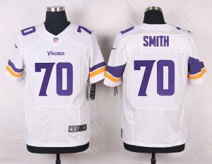 Minnesota Vikings 70 Simth White 2016 Nike Elite Jerseys