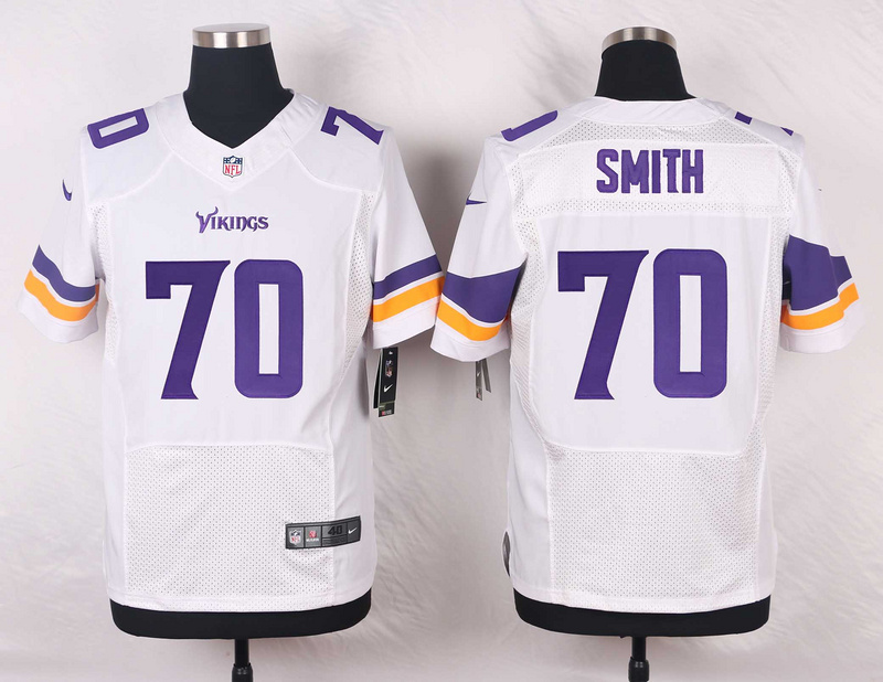 Minnesota Vikings 70 Simth White 2016 Nike Elite Jerseys