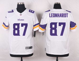 Minnesota Vikings 87 Leonhardt White 2016 Nike Elite Jerseys
