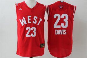 New Orleans Pelicans 23 Anthony Davis 2016 NBA All Star jerseys