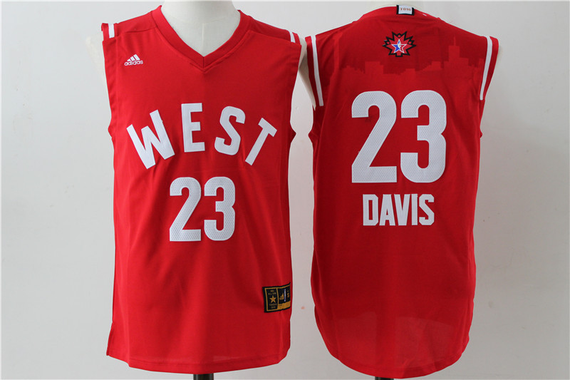 New Orleans Pelicans 23 Anthony Davis 2016 NBA All Star jerseys