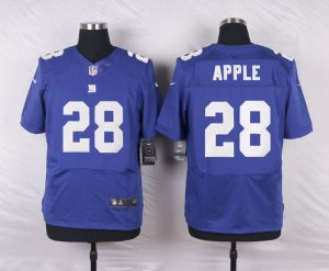 New York Giants 28 Apple Blue 2016 Nike Elite Jerseys