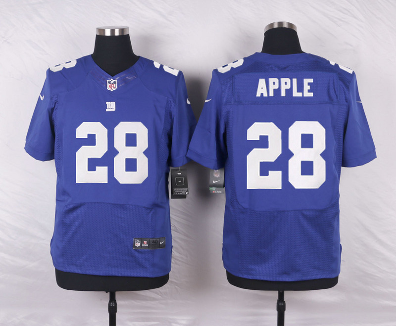 New York Giants 28 Apple Blue 2016 Nike Elite Jerseys