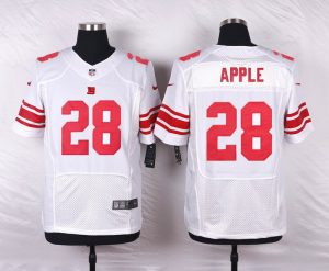 New York Giants 28 Apple White 2016 Nike Elite Jerseys