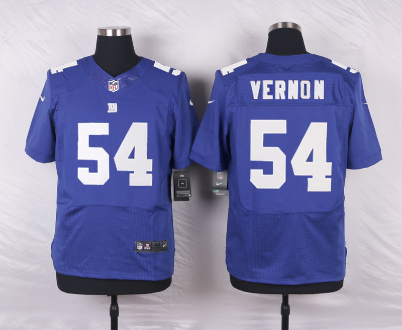 New York Giants 54 Vernon Blue 2016 Nike Elite Jerseys