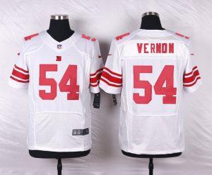 New York Giants 54 Vernon White 2016 Nike Elite Jerseys