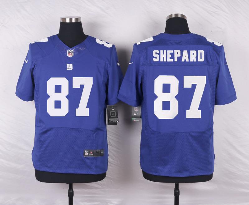 New York Giants 87 Shepard Blue 2016 Nike Elite Jerseys