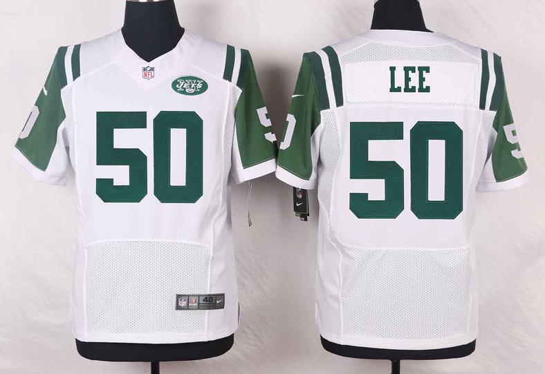 New York Jets 50 Lee White 2016 Nike Elite Jerseys