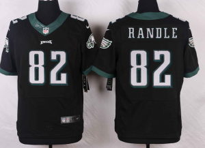 Philadelphia Eagles 82 Randle Black 2016 Nike Elite Jerseys