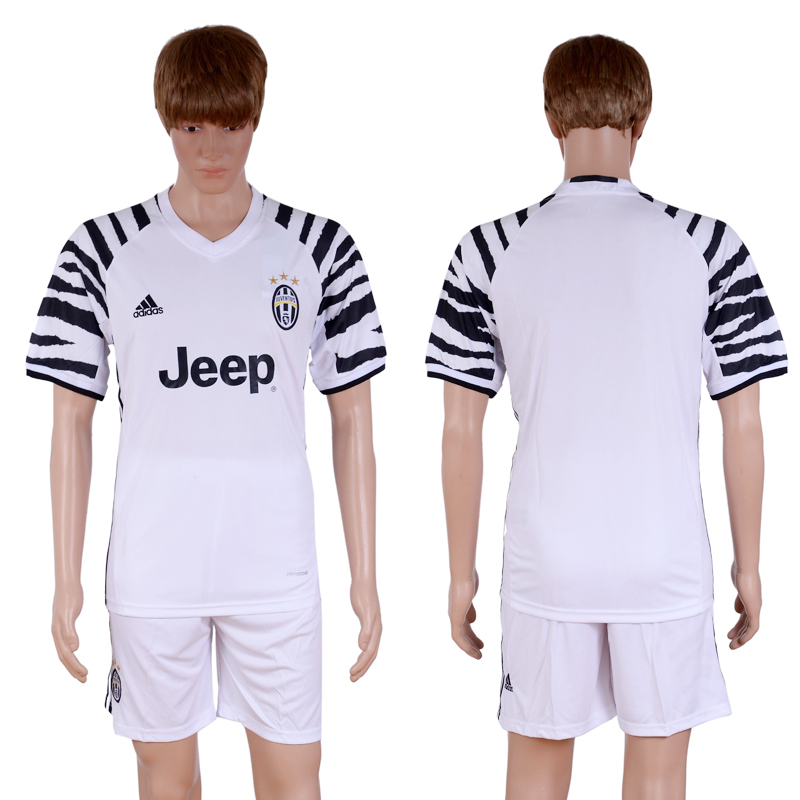 2016-2017 club Juventus second away White Soccer Jersey