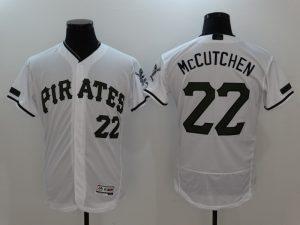 2017 MLB Pittsburgh Pirates 22 Mccutchen White Elite Commemorative Edition Jerseys