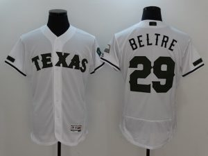 2017 MLB Texas Rangers 29 Beltre White Elite Commemorative Edition Jerseys