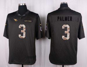Arizona Cardinals 3 Palmer 2016 Nike Anthracite Salute to Service Limited Jersey