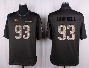 Arizona Cardinals 93 Campbell 2016 Nike Anthracite Salute to Service Limited Jersey