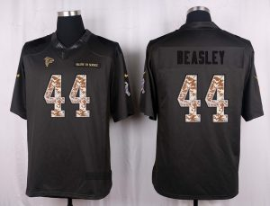 Atlanta Falcons 44 Beasley 2016 Nike Anthracite Salute to Service Limited Jersey