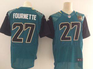 Jacksonville Jaguars 27 Fournette Green Elite Nike Elite Jerseys