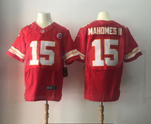Kansas City Chiefs 15 Mahomes ii Red Elite Nike Elite Jerseys