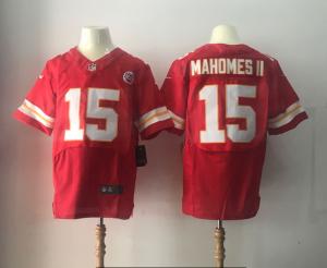 Kansas City Chiefs 15 Mahomes ii Red Elite Nike Elite Jerseys