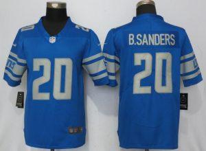 Detroit Lions 20 B.Sanders Blue Vapor Untouchable New Nike Limited Player
