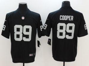 Oakland Raiders 89 Cooper Black Nike Vapor Untouchable Limited Jersey